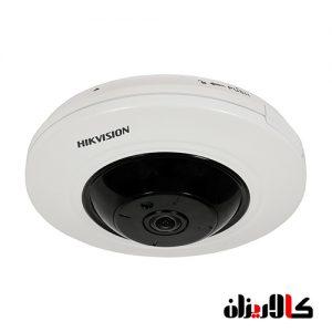 دوربین فیش آی تحت شبکه هایک ویژن مدل DS-2CD2955FWD-IS