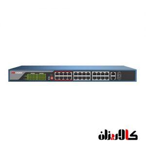 DS-3E0326P-E 24 پورت poe شبکه سوییچ