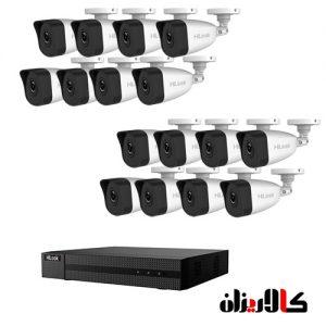 16 تا دوربین 2 مگاپیکسل IP هایلوک تحت شبکه