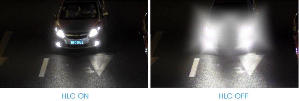 قابلیت HLC در دوربین مداربسته